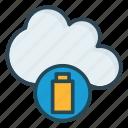battery, power, server icon
