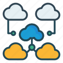 cloud, network, storage icon