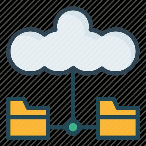 Cloud, network, storage icon - Download on Iconfinder