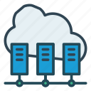 cloud, database, sharing