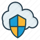 cloud, protection, shield
