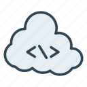 coding, scripting, server icon