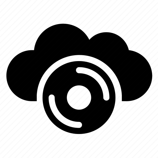 audio, disc, drive, player icon