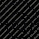 advertisement, megaphone, server, storage icon