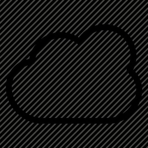 Cloud, data, storage, warm, weather icon - Download on Iconfinder