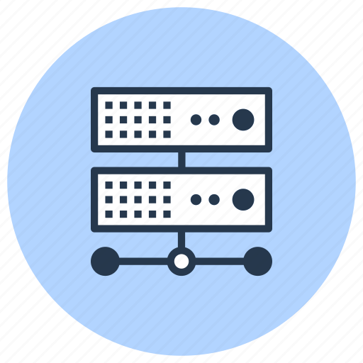 cloud, computing, data, platform, server, storage icon
