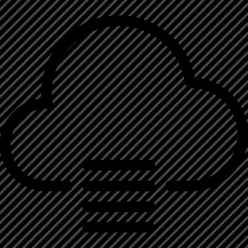 cloud, cloud-computing, cloud-list, line-icon, list, order, storage icon