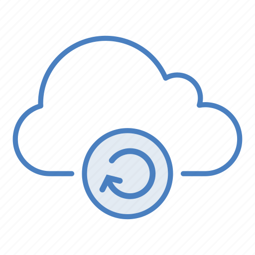 cloud, hosting, network, reconnect, refresh, reload, server icon