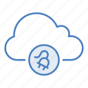 cloud, connect, connection, hosting, network, plug, server icon