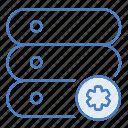 cloud, hosting, network, options, server, settings icon