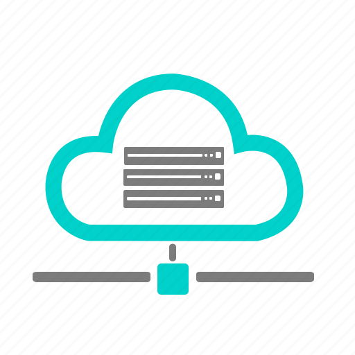 cloud, connection, data, internet, network, online, server icon