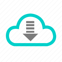business, cloud, connection, data, download, media, social icon