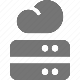 cloud, hardisks icon