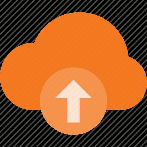 cloud, computing, syncronize, upload icon