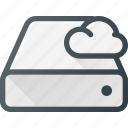 cloud, computing, disk, drive, syncronize icon