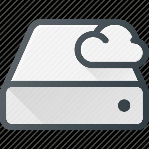 cloud, computing, disk, drive, syncronize icon
