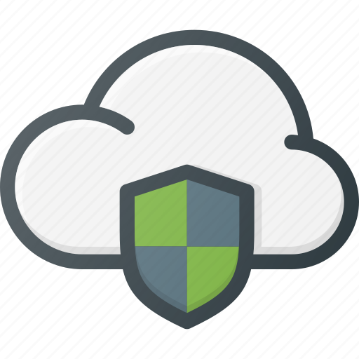 cloud, computing, protect, protection icon