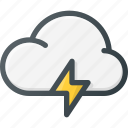 cloud, computing, fast, syncronize icon