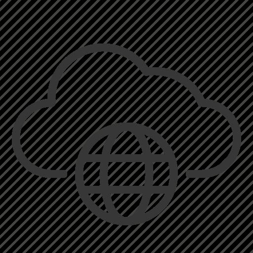 Cloud, data, network, storage, server icon - Download on Iconfinder