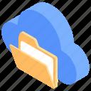 cloud computing, cloud document, cloud folder, cloud technology, data storage, shared folder icon