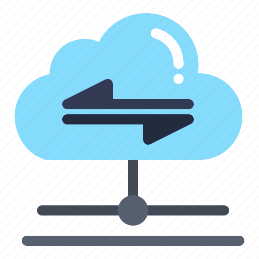 Cloud, data, send, share icon - Download on Iconfinder