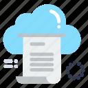 cloud, computing, document, file, share