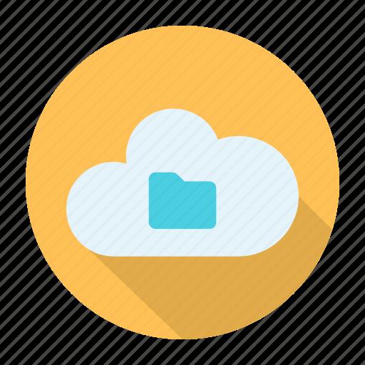 cloud, explorer, files, folder icon