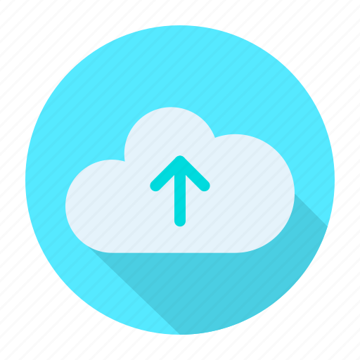 arrow, cloud, direction, up icon