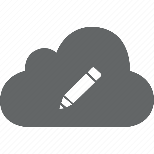 change, cloud, edit, pencil, setting, tool, writing icon