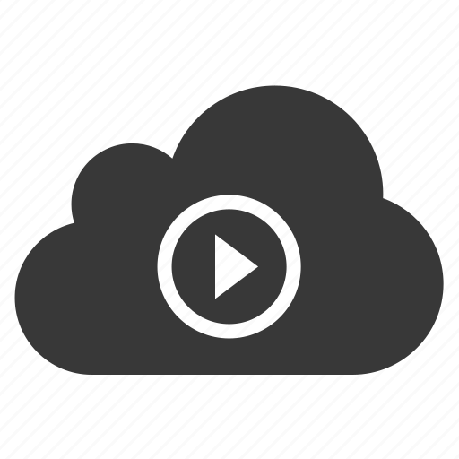 cloud, media, music, play icon