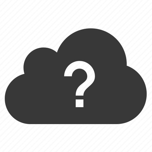 ?, ask, cloud, faq, question icon