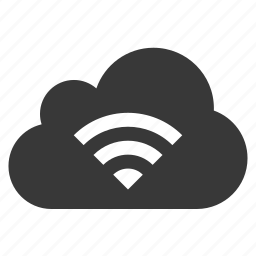 cloud, connection, hoptspot, network, signal, wifi icon