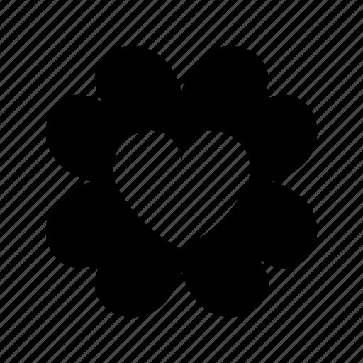 clover, four, leaf, luck, lucky icon