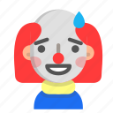 clown, emoji, halloween, horror, monster, scary, sorry