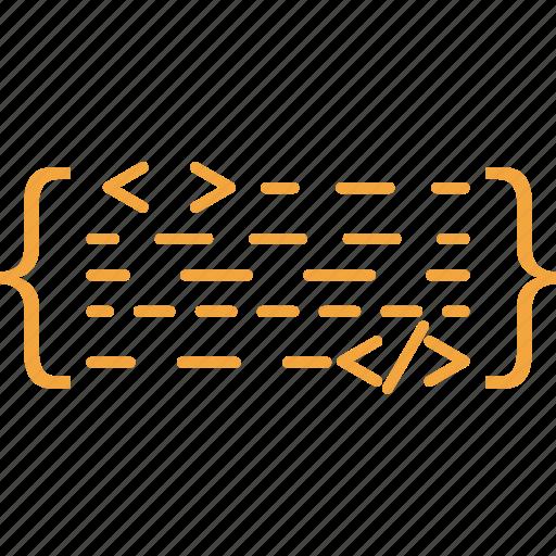 coding, design, html, language, script, scripting, web devalopenent icon