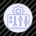 coding, cog, control, gear, panel, parameter, setting