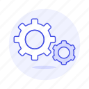 coding, cog, gear, gears, preferences, setting