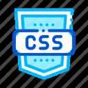 coding, css, language, system icon icon