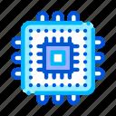 computer, element, processor icon icon