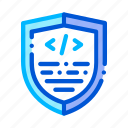 antivirus, coding, program icon icon