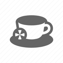 cup, drinking, drinks, lemmon, mug, tea icon