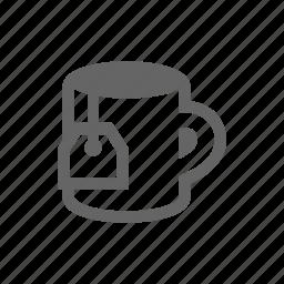 cup, drinking, drinks, heat, mug, tea icon