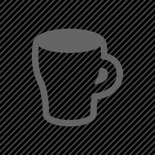Free Clipart: Coffee mug icon - Orange BAckground | Food