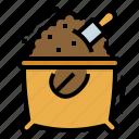 bag, bean, cafe, coffee, sack icon