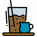 cafe, coffee, drink, iced, shop icon