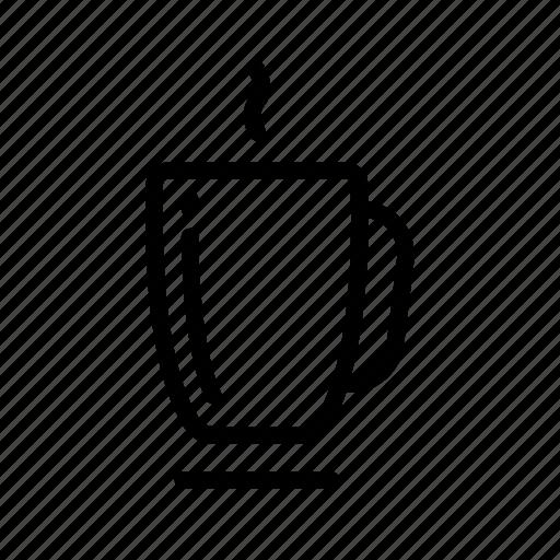 breakfast, cappuccino, coffee, cup, mug, pot, tea icon