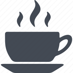coffe, coffee, cup, drink, saucer icon