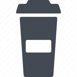 beaker with lid, coffe, coffee, cup, drink icon