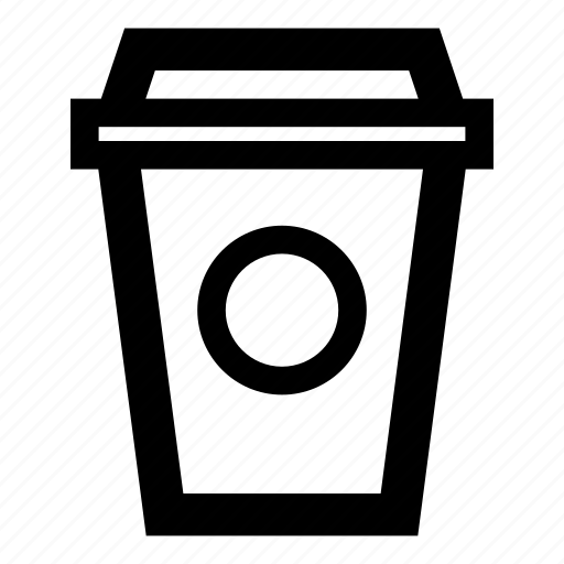circle, coffee, coffee cup, coffee to go, cup, drink, to go cup icon