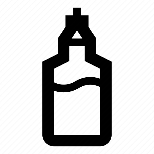 bottle, cocktail, coffee syrup, drink, glass, sugar, syrup icon